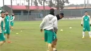 گزارشی از تمرینات تیم ملی امید