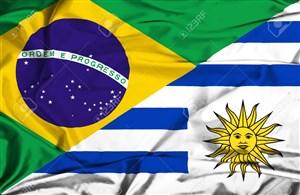 خلاصه بازی برزیل 1 - اروگوئه 0