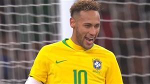 تک گل نیمار به تیم ملی اروگوئه