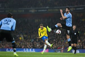 برزیل 1-0 اروگوئه: پیروزی سلسائو در امیریتس