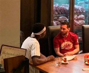 پوگبا-مسی؛ رمزگشایی از یک ملاقات مرموز