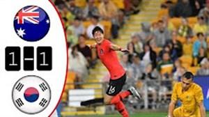 خلاصه بازي استراليا 1 - کره جنوبي 1