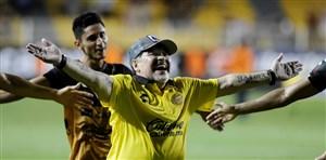 تیم مارادونا در آستانه صعود به دسته اول مکزیک