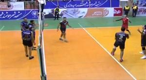 خلاصه والیبال پیام خراسان 3 - فولاد سیرجان 0