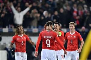 سوئیس 5-2 بلژیک: صعود حیرت انگیز سوئیسی ها