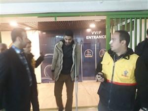 حضور محمد انصاری در آزادی
