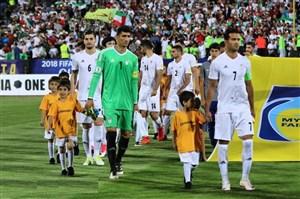 رویارویی تیم ملی ایران و ونزوئلا در دوحه