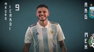 شماره جدید پیراهن بازیکنان تیم ملی آرژانتین