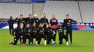 آخرین تمرین اروگوئه پیش از دیدار با فرانسه