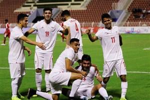 گلهای تیم ملی امید ایران مقابل عمان