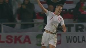 گل اول لهستان به پرتغال توسط میلیک (پنالتی)