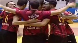 خلاصه والیبال شهروند اراک 3 - عقاب نهاجا 0