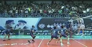 خلاصه والیبال شهرداری ورامین 3 - سایپا 1
