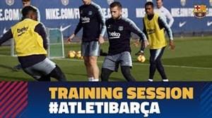 تمرین  امروز بازیکنان بارسلونا  (30-08-97)