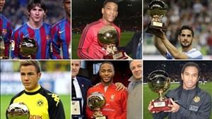 برندگان جایزه پسر طلایی فوتبال جهان  (2017-2003)