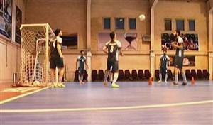 اردوی تیم ملی فوتسال قبل از مسابقات اسلواکی