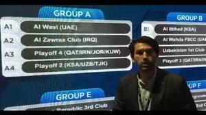 توضیحات احسان بعیدی مدیررسانهای ذوب آهن درباره قرعه این تیم در آسیا