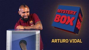 چالش جعبه ی راز آلود بارسلونا با ویدال
