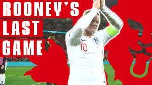 به مناسبت بازی خداحافظی وین رونی با تیم انگلیس