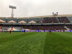 باران علیه روز پرتماشاچی فوتبال ایران