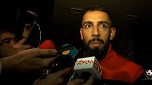 مصاحبه بعد از بازی با بازیکنان پرسپولیس - تراکتورسازی