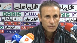کنفرانس خبری یحیی گل محمدی بعد از بازی با سایپا
