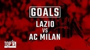 5 گل برتر آث میلان در مقابل لاتزیو