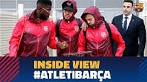 حواشی قبل از بازی اتلتیکومادرید - بارسلونا