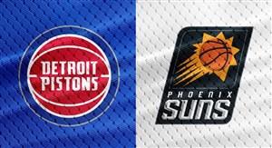 خلاصهبسکتبال دیترویت پیستونز - فونیکس سانز