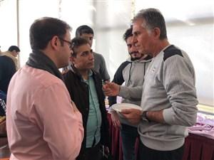 حواشی دیدار خبرنگاران و اصحاب رسانه با کارلوس کی روش
