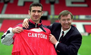 اریک کانتونا ستاره جنجالی و سابق منچستر یونایتد