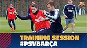 تمرین امروز بارسلونا (97/09/05)