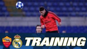 تمرین امروز تیم رئال مادرید (06-09-97)