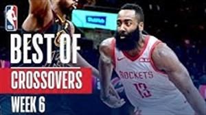 کراس اوور های برتر هفته ششم بسکتبال NBA