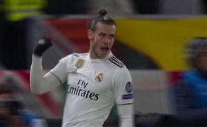 گل اول رئال مادرید به آ اسرم توسط گرت بیل