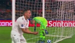 گل دوم رئال مادرید به آ اسرم توسط لوکاس واسکز