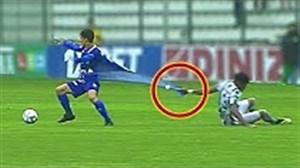 لحظه های جالب و تماشایی فوتبالی