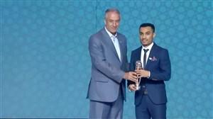 علی اصغر حسن زاده بهترین بازیکن فوتسال سال آسیا 19-2018