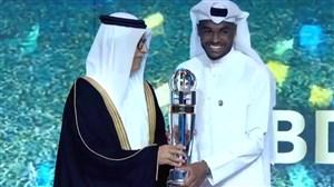 عبدالکریم حسن بهترین بازیکن سال آسیا 19-2018