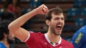 خلاصه والیبال سادا کروز برزیل 1 - ترنتینو ایتالیا 3 (گزارش آنتن)