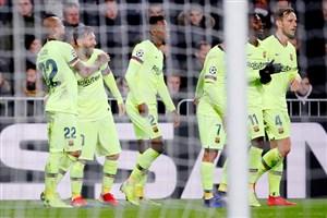 پی اس وی 1-2 بارسلونا: پیروزی به لطف مسی و تیرک!