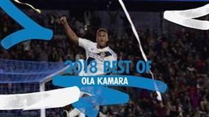 لحظات برتر اولا کامارا در تیم الایگالکسی (2018)