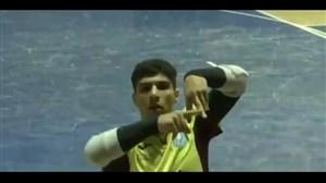 گلزیبایاصلانی برای تسوئو در لیگ فوتسالگرجستان