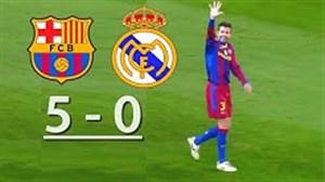 در چنین روزی سال 2010؛ بارسلونا 5 رئال مادرید 0