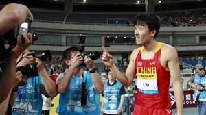 لیو ژیانگ رکورددار دو با مانع در جهان