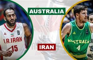 خلاصه بسکتبال ایران 47 - استرالیا 76 (انتخابی جام جهانی)