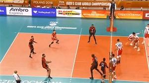 خلاصه والیبال لوبه ایتالیا 3 - آسکو رسوویا لهستان 1