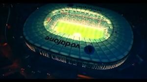 نمایی زیبا از استادیوم باشگاه بشیکتاش