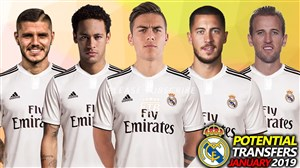 تمام احتمالات نقل و انتقالاتی رئال مادرید