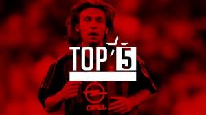 5 گل برتر آث میلان در برابر پارما